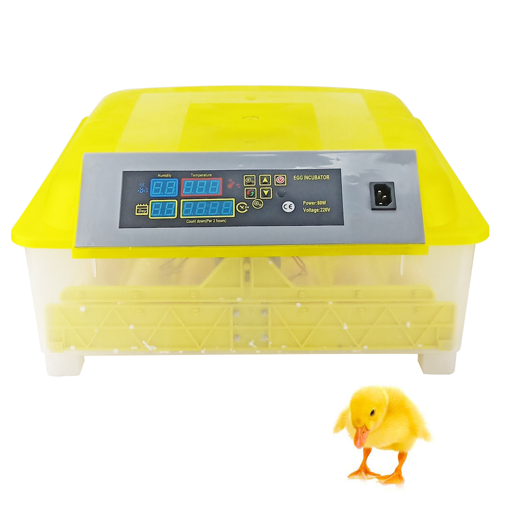 High Hatching Rate 48 Automatic Egg Incubator Automatic Turning Hatcher Egg Hatchery Machine Parts For Chicken Duck Quail Parrot