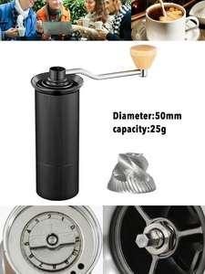 XEOLEO Burr Grinder Miller Milling-Machine Coffe-Bean Conical Aluminum Stainless-Steel