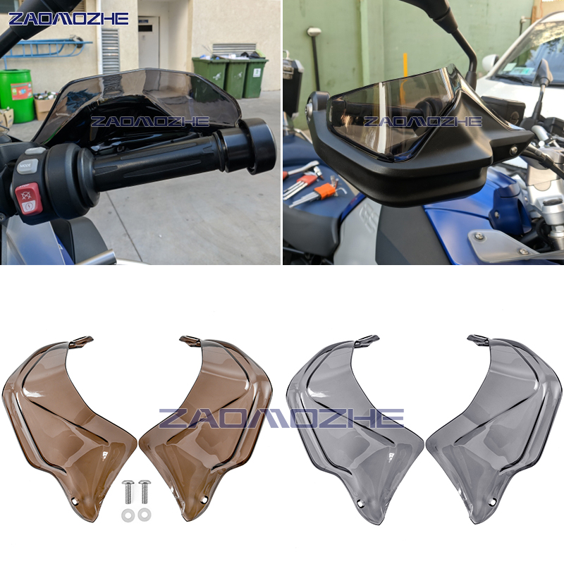 For BMW R 1200 GS ADV R1200GS LC F 800 GS Adventure S1000XR R1250GS Motorcycle Handguard Hand shield Protector Windshield|Windscreens & Wind Deflectors|Automobiles & Motorcycles - title=