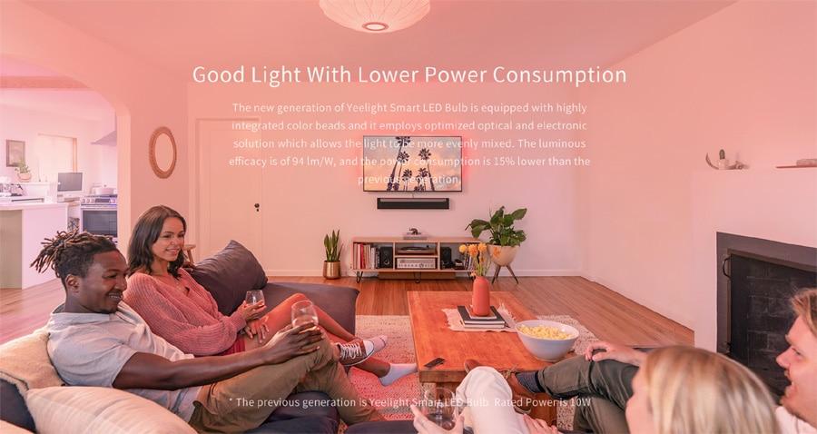 Xiaomi Yeelight Smart LED Bulb 1S (Color) 6