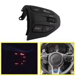 Samochód kierownicy przyciski sterowania dla KIA Rio 4 2018-2020 XLINE 2018-2020 rok telefon z Bluetooth sterowania przełącznik głośności