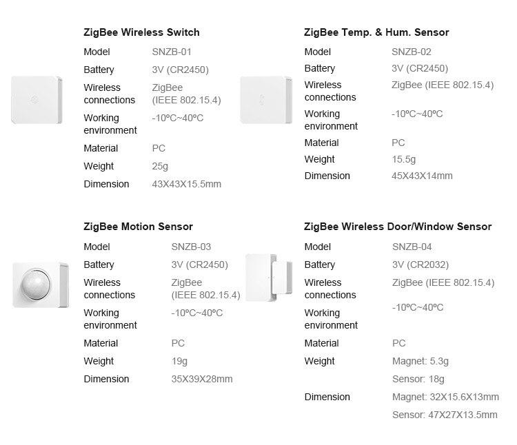 H39538662bed741e3b6da2c26cee08f66c - SONOFF ZigBee Bridge Wireless Door/Window Sensor Alert Notification Via EWeLink APP Control Smart Home Security Switch