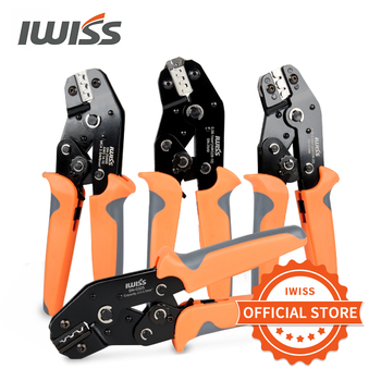 IWISS SN-28B/48B/06/0325  Crimping Pliers Clamp Tools Wire Connector Tool Pliers for JST-SM /Dupont /XH2.54/PH2.0 /Tab Terminal sn 28b sn 48b orange blue european bare terminal crimping pliers crimping tools 2 8mm 4 8mm plug spring sn28 sn48b