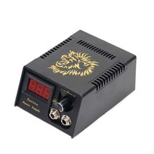 цена на Professional Digital LCD Tattoo Power Supply High Quality Black Tattoo Power Supply For Tattoo Machine Free Shipping