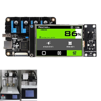 """3D Printer Controller Board ARM 32Bit Mainboard control with 3.5""""Touch Screen HQ"""