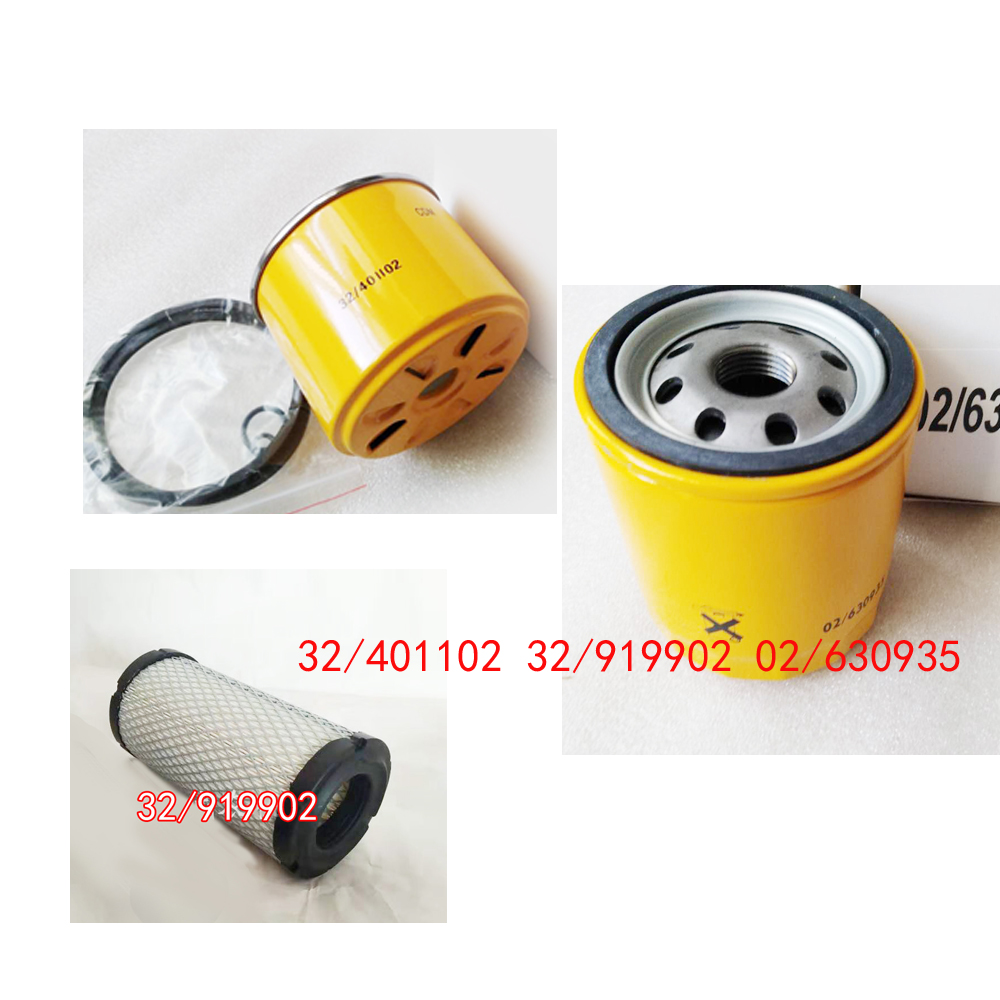 H:204MM YR 2009 JCB 8085 ZTS Filter Service Kit Air Oil Fuel Filters w//ISUZU 4LE2-XYSJ-01 Eng SN Hyd Filter