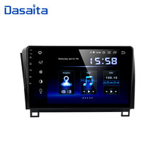 "Dasaita Android 9,0 Radio de coche para Toyota Tundra 2007-2013 Sequoia 2008-2018 coche Multimedia 10,2 ""IPS 1024*600 Bluetooth DSP(China)"