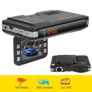 Car DVR Dash Cam VGR1-S 3 in 1 VGR3 2 in 1 Video Recorder Auto Universal Voice Alert GPS Radar Detector Dashcam DVR For Russia image