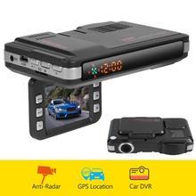 Carro dvr traço cam VGR1 S 3 em 1 vgr3 2 em 1 gravador de vídeo automático universal voz alerta gps radar detector dashcam dvr para a rússia