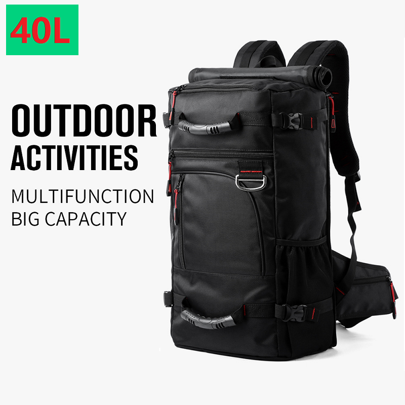 "Waterproof Travel Backpack Men 15/"" 15.6/""Laptop multifunction Outdoor School Bag"