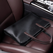 Men's PU leather Tote Bag Men handbag Brand business hand bag Casual Men Shoulder Bag Laptop Briefcase Male Handbags Bags F