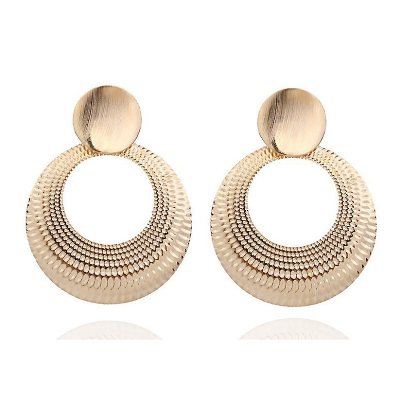 Brincos New Sale Tassel Earrings Aretes Earrings Exaggerated Women Big Circle Women 39 s Bohemian Female Earring 2019 Long Jewelry in Drop Earrings from Jewelry amp Accessories
