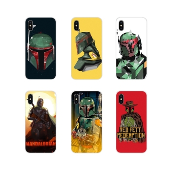 For Apple iPhone X XR XS 11Pro MAX 4S 5S 5C SE 6S 7 8 Plus ipod touch 5 6 design movie Boba Fett Accessories Phone Cases Covers image