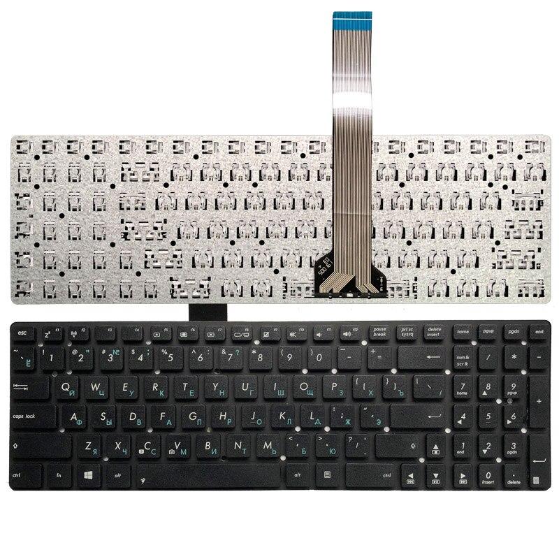 Russian RU Keyboard FOR ASUS X751 X751L X751LA X751LAV X751LD X751LDV X751LK X751LN Laptop Black