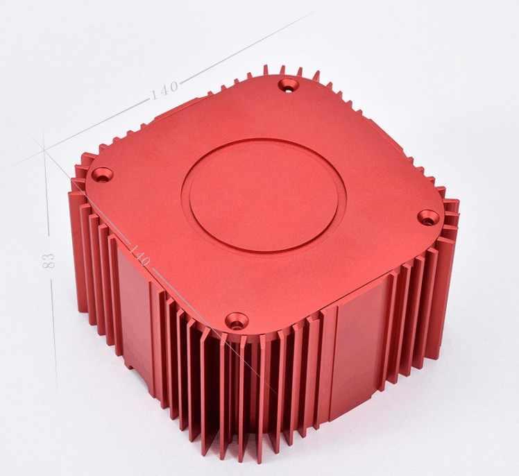 Aluminium-Verst-rker-Audio-Transformator