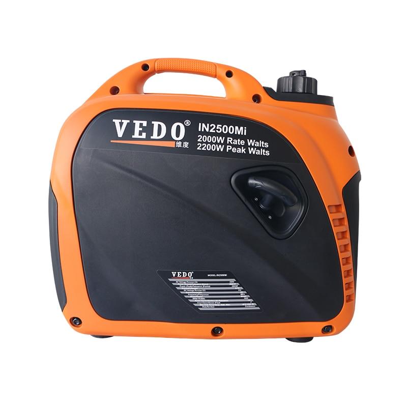 gerador de gasolina 220 v no carro ar condicionado rv pequeno mudo a bordo portable1 5kw