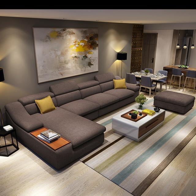 Sectional Lounge Sofa Furniture 4