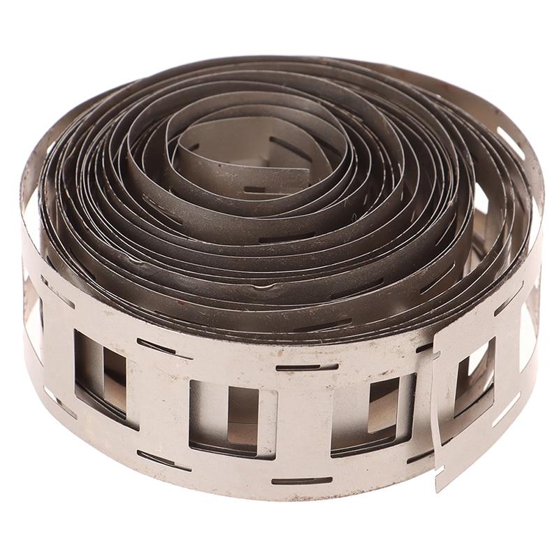 1m x 27mm x 0.15mm Nickel Plate Strip Tape For 18650 Li-Ion Battery Spot Welding