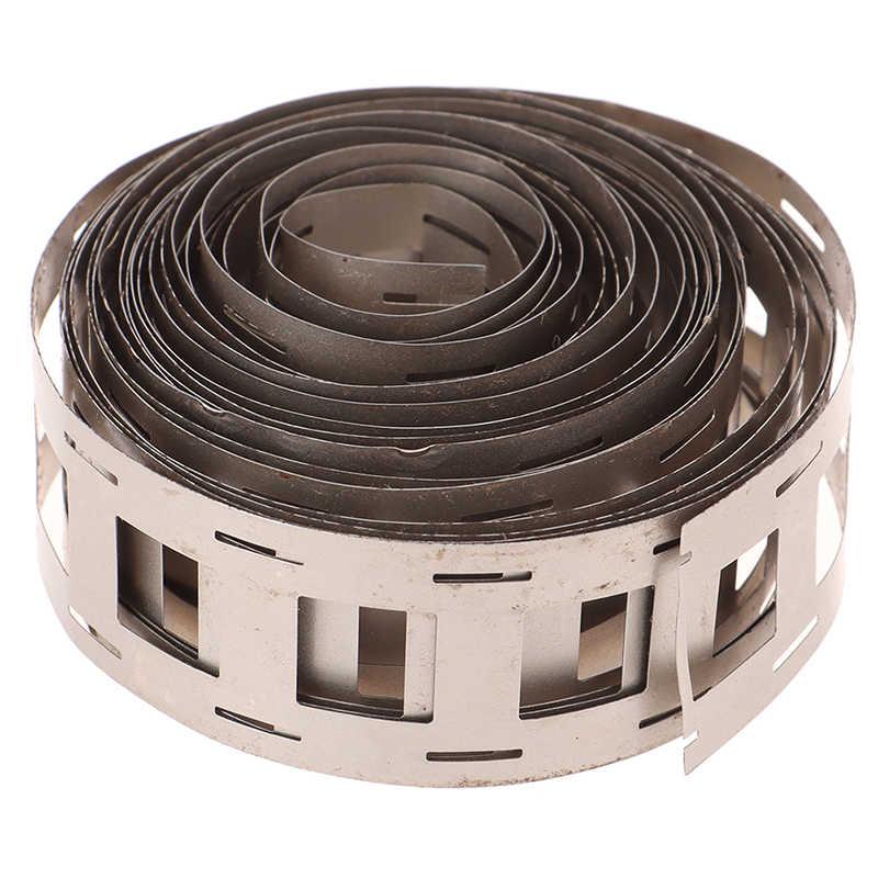 1 متر النيكل النقي قطاع 2P 0.15*27 مللي متر النيكل قطاع ل 18650 بطارية ليثيوم لحام الشريط عالية النقاء النقي النيكل حزام