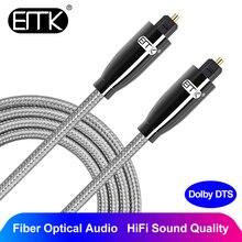 EMK Premium Digital Optical Audio Cable Toslink SPDIF Wires