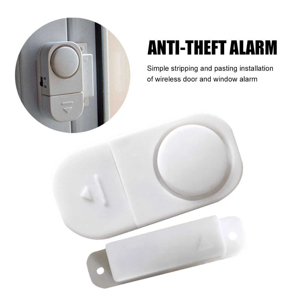 New W5058 110dB infrared anti-theft anti-theft door Multifunctional human motion detector for garage shop, home security
