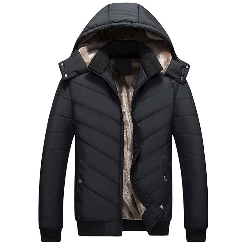 MRMT 2020 Brand New Winter Men's Jackets Cotton Padded Overcoat for Male Hats Short Cotton Jacket Outer Wear Clothing Garment