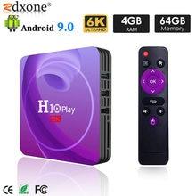 Смарт ТВ бокс android 90 4 ГБ 32 64 Гб allwinner h6 четырехъядерный