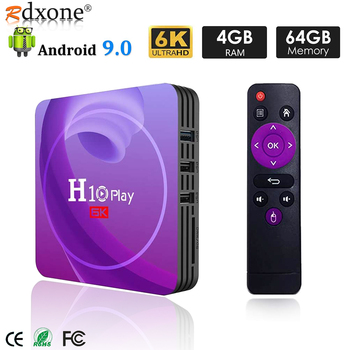 Smart TV Box Android 9.0 4GB 32GB 64GB TV BOX Allwinner H6 Quad Core 6K HDR 2.4GHz Wifi Google Player Set Top Box h96 mini android 9 0 tv box 4gb 64gb allwinner h6 quad core 6k h 265 wifi bluetooth youtube 4k set top box smart 4gb 32gb tv box