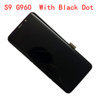 With Black Dot ORIGINAL AMOLED Display LCD for SAMSUNG S9 LCD G960U G960A G960F Touch Screen Digitizer Assembly