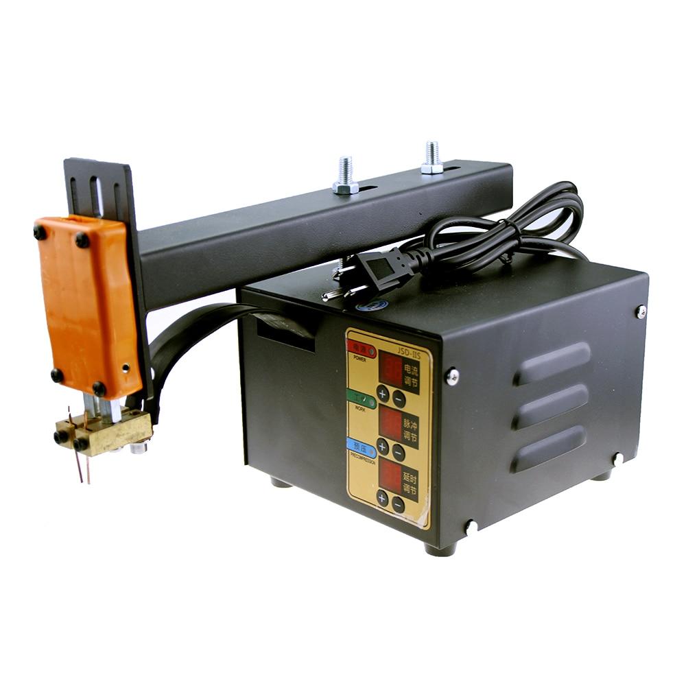 110V JSD For Machine Lithium Battery Spot 220V Pulse Pulse Welder Power High Weld Adjustable 18650 Precision Pack Spot 3KW IIS