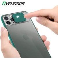 Custodia protettiva per telefono con obiettivo della fotocamera per iPhone 11 Pro Max 12 Mini XS X XR 7 Plus 8 6S SE 2020 iPhone11 custodia protettiva rigida lusso
