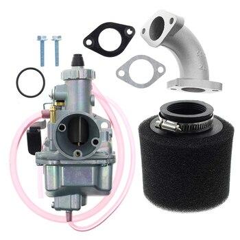 Hot New VM22 26mm Carburetor Kit Fit for Mikuni Intake Pipe Pit Dirt Bike 110cc 125cc 140cc Lifan YX Auto Replacement Parts