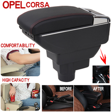 For Opel corsa Armrest Box Universal Car Central Armrest Storage Box cup holder ashtray modification accessories commercial car hight quality car armrest box storage for nv200 armrest box nv200