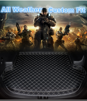 SJ High Side Custom Fit All Weather Car Trunk Mat AUTO Accessories Rear Cargo Liner Cover Carpet For TOYOTA FJ-CRUISER 2012-2017