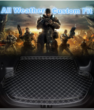 SJ High Side Custom Fit All Weather Car Trunk Mat AUTO Parts Rear Cargo Liner Cover Carpet Pad For Volvo XC90 2015 16 17 18 2019(China)