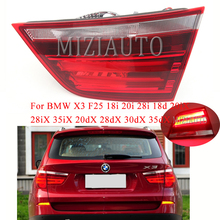 MIZIAUTO Tail Light Inner Side for BMW X3 F25 18i 20i 28i 18d 20iX 28iX 35iX 20dX 28dX 30dX 35dX Brake Stop Lamp