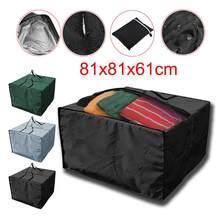 Almofadas de assento de móveis de natal saco de armazenamento impermeável bolsa 32x32x242 polegadas # w0