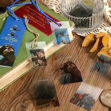 Retro série de filmes marcadores para a escola ano novo bonito papelaria escritório bookmarks decoração student papelaria