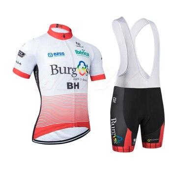 Bh Ciclismo equipo jersey bicicleta pantalones cortos traje Ropa Ciclismo hombre Verano de secado rápido bicicleta Maillot pantalones Ropa BH Berg blusa Caiyun