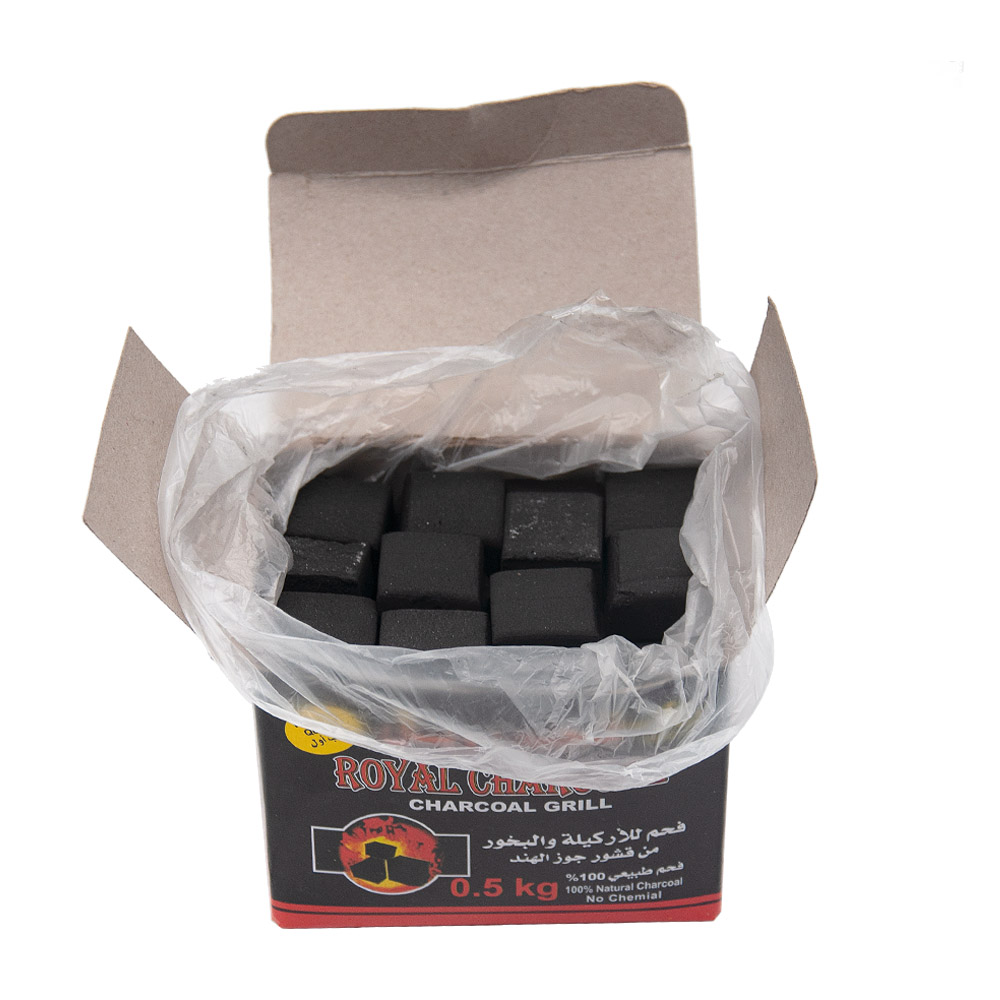 Royal Charcoal Coal for Shisha Hookah Chicha Sheesha for Charcoal Holder Coal Bowl Narguile Charcoal For Hose