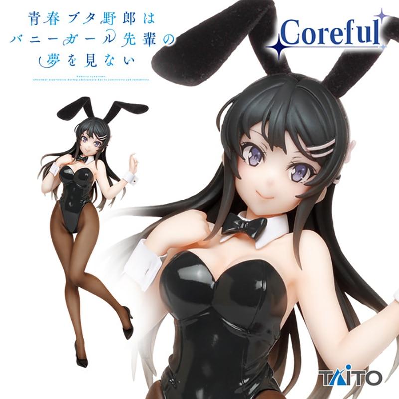 Judai 20cm Original Taito Anime Aobuta Sakurajima Mai Bunny Mädchen Ver Mai Senpai PVC Action Figure Puppe Spielzeug Modell