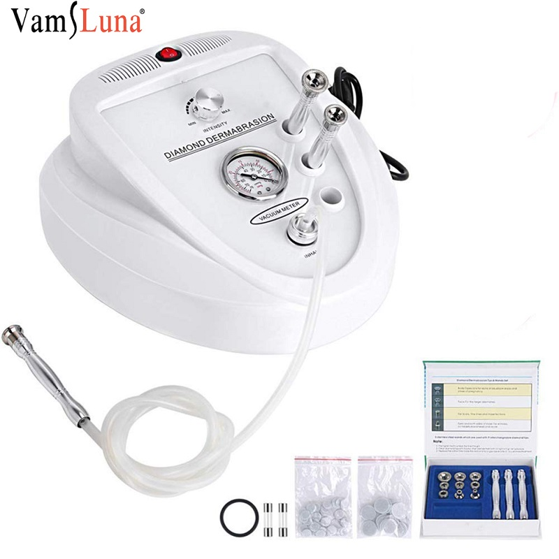 3 IN 1 Diamond Dermabrasion Microdermabrasion Machine Kin Care Rejuvenation Device For Wrinkle Removal Face Beauty