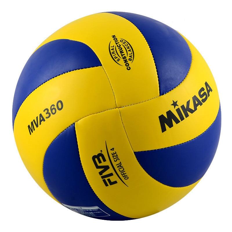 Original Japan MIKASA Volleyball MVA360 MVA460 Super Hard Fiber Brand Volleyball Competition Size 4 Size 5 PU Volleyball