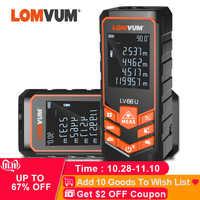 LOMVUM LV 66U Maniglia Laser Telemetro Laser Digitale Tester di Distanza Livello Elettrico Nastro Misuratore di Distanza del Laser Misuratore