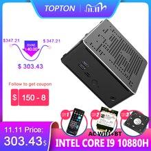 "Nieuwste Mini Pc Intel I9 10880H I9 9880H I7 9850H 2 * DDR4 2 * M.2 Pcie + 1*2.5 ""Sata Graphics 630 Gaming Stilte Pc Hdmi Dp Ac Wifi Bt"