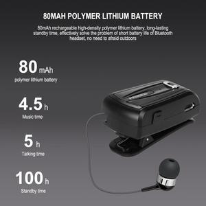 Image 2 - Fineblue F V6 bluetooth 4.1 mini fones de ouvido estéreo bluetooth clipe sem fio fone para ios android telefone cancelamento ruído mini