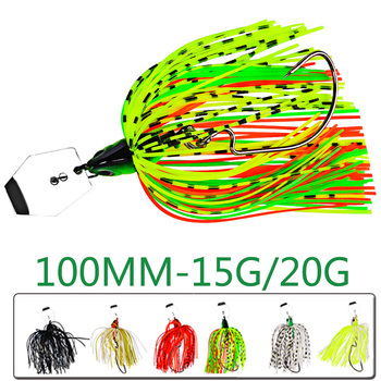 1pc Wobbler For Fish Bass Pike Walleye Tackle Fishing Lure Winter Artificial Bait Hard Buzz Spinnerbait Swimbait Chatterbait Sea