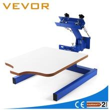 Brandnew 1 Color 1 Station Silk Screen Printing Machine 1-1 Press DIY T-Shirt Printing