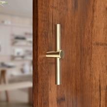 Кухня Спальня дверь тянуть Твердые комод аппаратные средства Чистая медь бар Домашний Декор шкаф ручка для шкафа с выдвижными ящиками