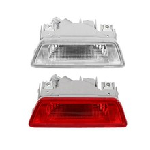 Car Rear Tail Bumper Reflector White Clear Fog Lamp Light for Nissan X-Trail 08-13(China)